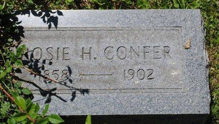 CONFER, ROSIE HANNAH - Clarion County, Pennsylvania | ROSIE HANNAH CONFER - Pennsylvania Gravestone Photos