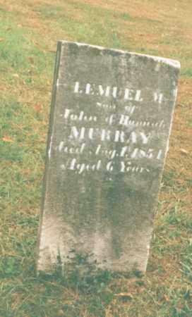 MURRAY, LEMUEL M. - Clarion County, Pennsylvania | LEMUEL M. MURRAY - Pennsylvania Gravestone Photos