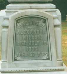 WILSON, JANE - Clarion County, Pennsylvania | JANE WILSON - Pennsylvania Gravestone Photos