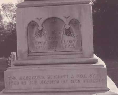 WILSON WILSON, SARAH MIRANDA - Clarion County, Pennsylvania   SARAH MIRANDA WILSON WILSON - Pennsylvania Gravestone Photos
