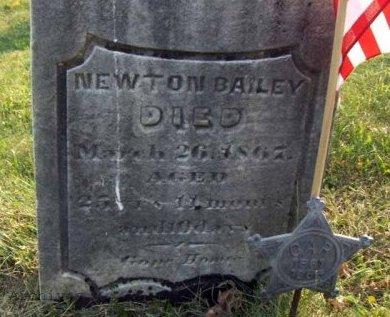 BAILEY (CW), NEWTON - Clearfield County, Pennsylvania | NEWTON BAILEY (CW) - Pennsylvania Gravestone Photos