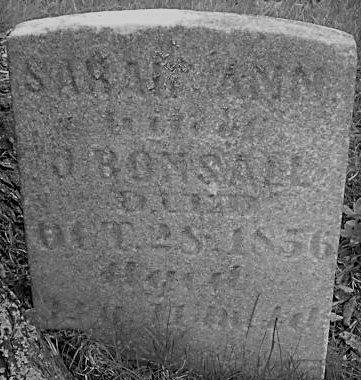 BONSALL, SARAH ANN - Clearfield County, Pennsylvania | SARAH ANN BONSALL - Pennsylvania Gravestone Photos