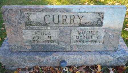 CURRY, MYRTLE VIDA - Clearfield County, Pennsylvania | MYRTLE VIDA CURRY - Pennsylvania Gravestone Photos