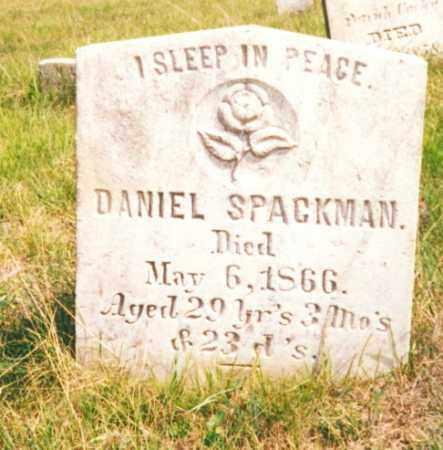 SPACKMAN, DANIEL - Clearfield County, Pennsylvania | DANIEL SPACKMAN - Pennsylvania Gravestone Photos