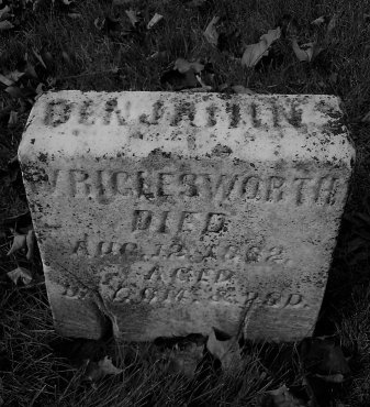 WRIGLESWORTH, BENJAMIN - Clearfield County, Pennsylvania | BENJAMIN WRIGLESWORTH - Pennsylvania Gravestone Photos