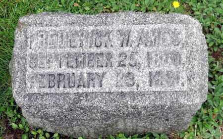 AMES, FREDERICK W. - Crawford County, Pennsylvania   FREDERICK W. AMES - Pennsylvania Gravestone Photos
