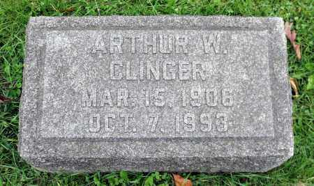 CLINGER, ARTHUR W. - Crawford County, Pennsylvania | ARTHUR W. CLINGER - Pennsylvania Gravestone Photos