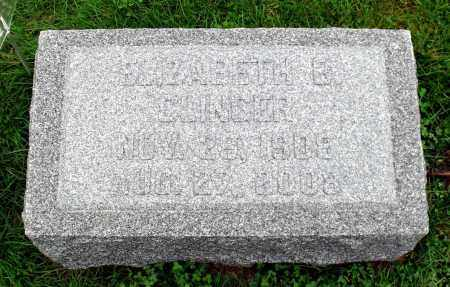 CLINGER, ELIZABETH B. - Crawford County, Pennsylvania | ELIZABETH B. CLINGER - Pennsylvania Gravestone Photos