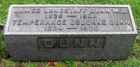 DUNN, TEMPERANCE - Crawford County, Pennsylvania | TEMPERANCE DUNN - Pennsylvania Gravestone Photos