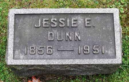 DUNN, JESSIE E. - Crawford County, Pennsylvania | JESSIE E. DUNN - Pennsylvania Gravestone Photos