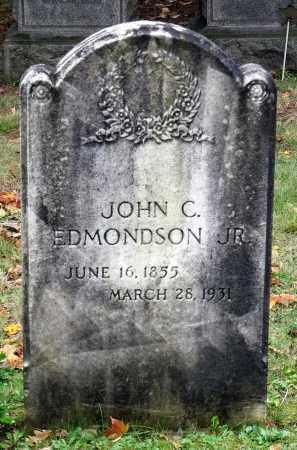 EDMONDSON, JOHN C., JR. - Crawford County, Pennsylvania | JOHN C., JR. EDMONDSON - Pennsylvania Gravestone Photos