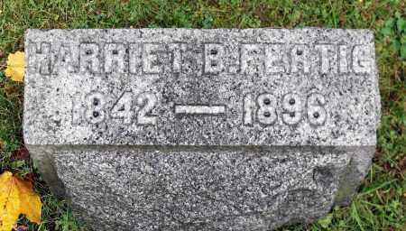 FERTIG, HARRIET B. - Crawford County, Pennsylvania | HARRIET B. FERTIG - Pennsylvania Gravestone Photos