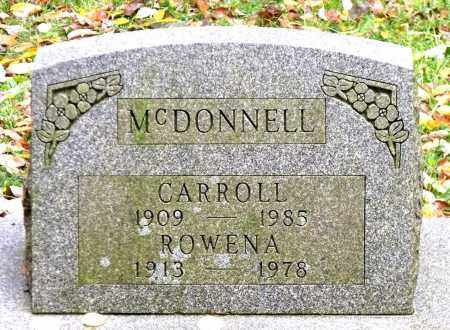 MCDONNELL, CARROLL - Crawford County, Pennsylvania | CARROLL MCDONNELL - Pennsylvania Gravestone Photos