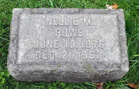 ROWE, NELLIE M. - Crawford County, Pennsylvania   NELLIE M. ROWE - Pennsylvania Gravestone Photos