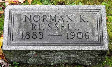 RUSSELL, NORMAN K. - Crawford County, Pennsylvania   NORMAN K. RUSSELL - Pennsylvania Gravestone Photos