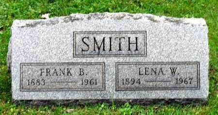 SMITH, LENA W. - Crawford County, Pennsylvania | LENA W. SMITH - Pennsylvania Gravestone Photos