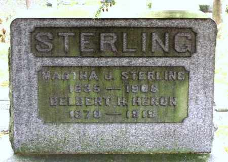 STERLING, MARTHA J. - Crawford County, Pennsylvania | MARTHA J. STERLING - Pennsylvania Gravestone Photos