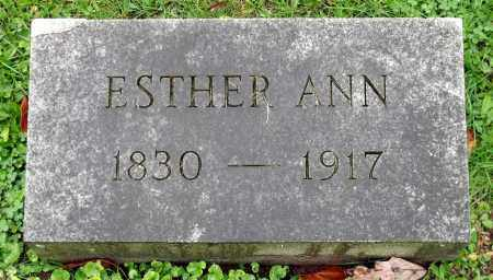 TARBELL, ESTHER ANN - Crawford County, Pennsylvania | ESTHER ANN TARBELL - Pennsylvania Gravestone Photos
