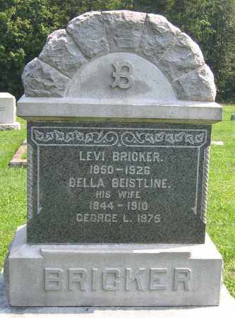 BRICKER, BELLA - Cumberland County, Pennsylvania | BELLA BRICKER - Pennsylvania Gravestone Photos