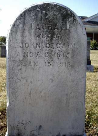 CAIN, LAURA F. - Cumberland County, Pennsylvania | LAURA F. CAIN - Pennsylvania Gravestone Photos