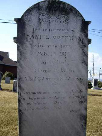 COFFMAN, DANIEL - Cumberland County, Pennsylvania | DANIEL COFFMAN - Pennsylvania Gravestone Photos