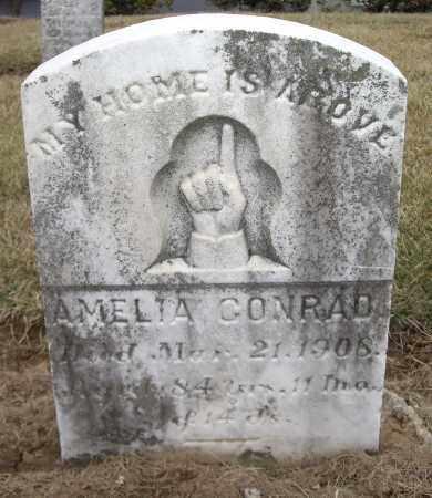 CONRAD, AMELIA - Cumberland County, Pennsylvania | AMELIA CONRAD - Pennsylvania Gravestone Photos