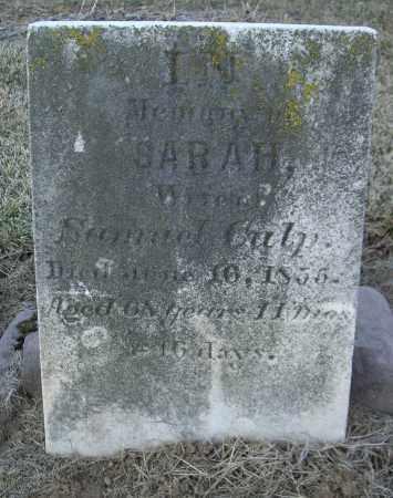 CULP, SARAH - Cumberland County, Pennsylvania | SARAH CULP - Pennsylvania Gravestone Photos