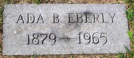 EBERLY, ADA B. - Cumberland County, Pennsylvania | ADA B. EBERLY - Pennsylvania Gravestone Photos