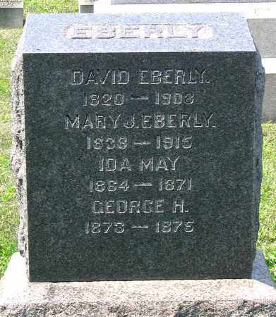 EBERLY, DAVID - Cumberland County, Pennsylvania | DAVID EBERLY - Pennsylvania Gravestone Photos