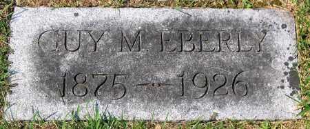 EBERLY, GUY MELOY EBERLY - Cumberland County, Pennsylvania | GUY MELOY EBERLY EBERLY - Pennsylvania Gravestone Photos
