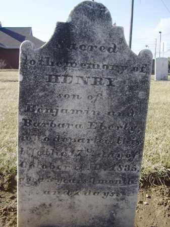 EBERLY, HENRY - Cumberland County, Pennsylvania | HENRY EBERLY - Pennsylvania Gravestone Photos
