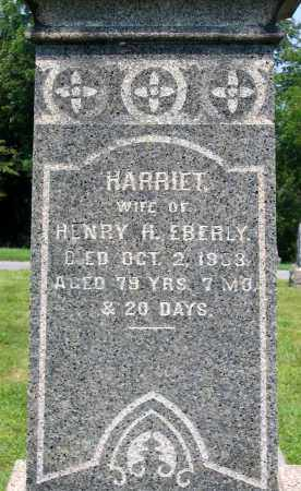 EBERLY, HARRIET - Cumberland County, Pennsylvania | HARRIET EBERLY - Pennsylvania Gravestone Photos