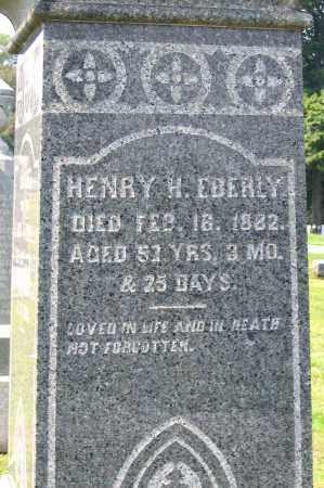 EBERLY, HENRY H. - Cumberland County, Pennsylvania | HENRY H. EBERLY - Pennsylvania Gravestone Photos