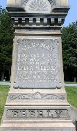 EBERLY, LAURA M. - Cumberland County, Pennsylvania | LAURA M. EBERLY - Pennsylvania Gravestone Photos