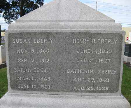 EBERLY, SUSAN - Cumberland County, Pennsylvania | SUSAN EBERLY - Pennsylvania Gravestone Photos