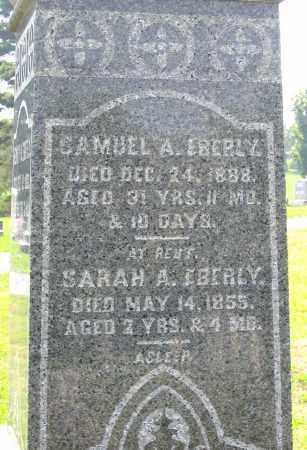EBERLY, SAMUEL A. - Cumberland County, Pennsylvania | SAMUEL A. EBERLY - Pennsylvania Gravestone Photos