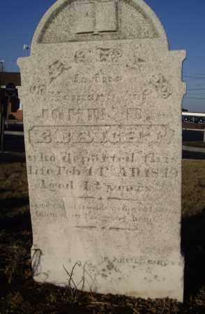 EBRICHY, JOHN B - Cumberland County, Pennsylvania | JOHN B EBRICHY - Pennsylvania Gravestone Photos