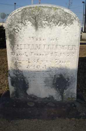 ELLINGER, MARY JANE - Cumberland County, Pennsylvania | MARY JANE ELLINGER - Pennsylvania Gravestone Photos