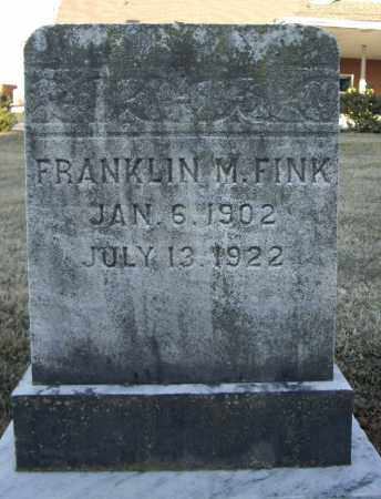 FINK, FRANK M - Cumberland County, Pennsylvania | FRANK M FINK - Pennsylvania Gravestone Photos