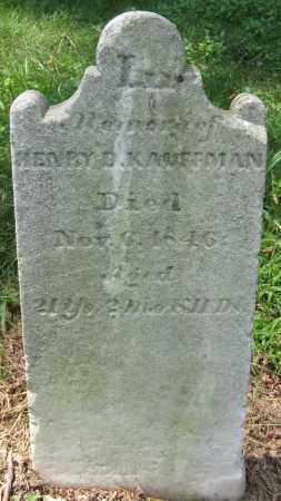 KAUFFMAN, HENRY B - Cumberland County, Pennsylvania | HENRY B KAUFFMAN - Pennsylvania Gravestone Photos