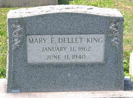 KING, MARY E. DELLET - Cumberland County, Pennsylvania | MARY E. DELLET KING - Pennsylvania Gravestone Photos