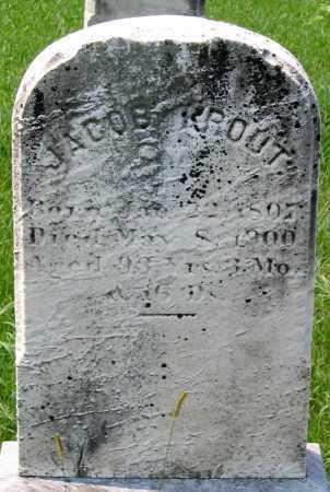 KROUT, JACOB - Cumberland County, Pennsylvania | JACOB KROUT - Pennsylvania Gravestone Photos