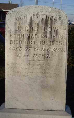 LOW, JACOB - Cumberland County, Pennsylvania | JACOB LOW - Pennsylvania Gravestone Photos
