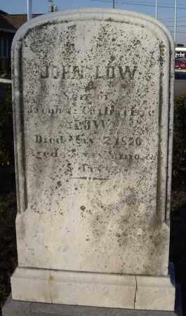 LOW, JOHN - Cumberland County, Pennsylvania | JOHN LOW - Pennsylvania Gravestone Photos