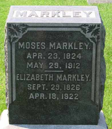 MARKLEY, MOSES - Cumberland County, Pennsylvania | MOSES MARKLEY - Pennsylvania Gravestone Photos