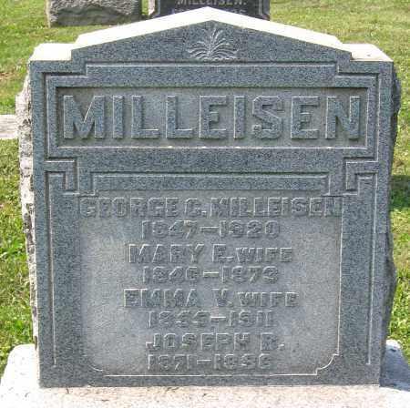 MILLEISEN, GEORGE C. - Cumberland County, Pennsylvania | GEORGE C. MILLEISEN - Pennsylvania Gravestone Photos