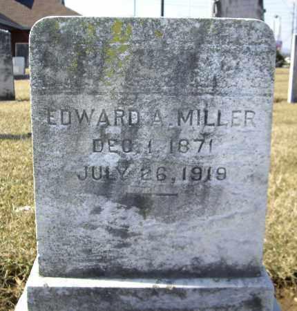 MILLER, EDWARD A. - Cumberland County, Pennsylvania | EDWARD A. MILLER - Pennsylvania Gravestone Photos