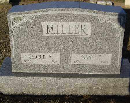 MILLER, GEORGE A - Cumberland County, Pennsylvania | GEORGE A MILLER - Pennsylvania Gravestone Photos