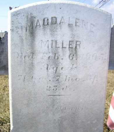 MILLER, MAGADELENE - Cumberland County, Pennsylvania | MAGADELENE MILLER - Pennsylvania Gravestone Photos