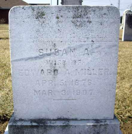 MILLER, SUSAN A - Cumberland County, Pennsylvania | SUSAN A MILLER - Pennsylvania Gravestone Photos